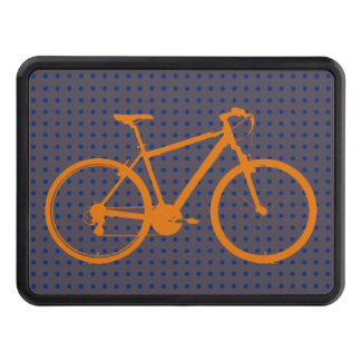 for cyclists bicycle-themed tow hitch cover