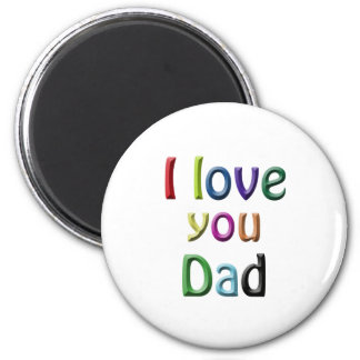 For Dad 2 Inch Round Magnet