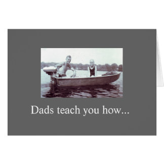 for dad - any occasion greeting card