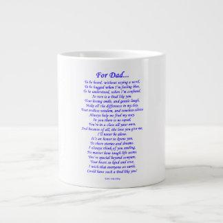For Dad Giant Coffee Mug