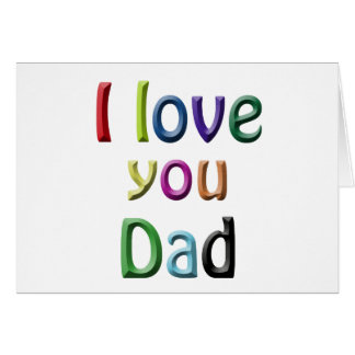 For Dad Greeting Cards