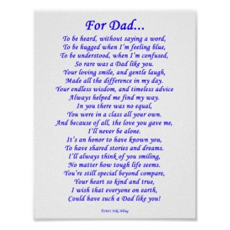 Dad Poems From Daughter