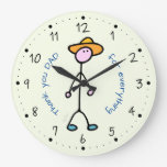 For Daddy Large Clock