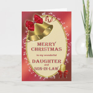 For Daughter And Son In Lawchristmas Card