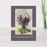 For Daughter-in-Law on Mother's Day. Fine Art Card