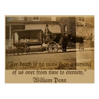 For death is no more than a turning of us... postcard