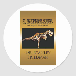 For Dino Lovers! Classic Round Sticker