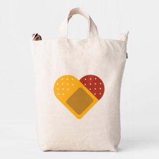 For Doctors and Nurses. Bandaged Heart. Duck Bag