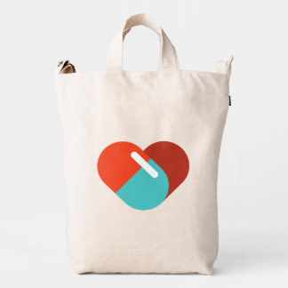 For Doctors and Nurses. Cure for Heart. Duck Bag