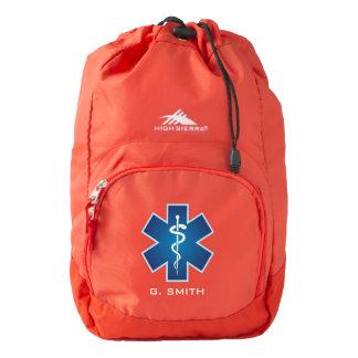 For Doctors and Nurses. Medical Caduceus. High Sierra Backpack