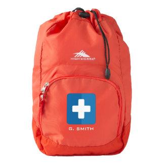 For Doctors and Nurses. Medical Cross. High Sierra Backpack