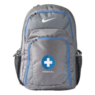 For Doctors and Nurses. Medical Cross. Nike Backpack