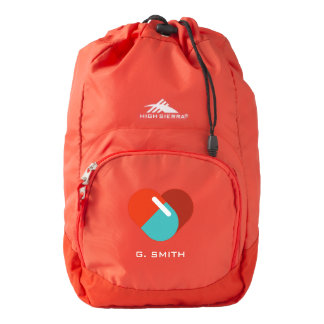 For Doctors and Nurses. Medical Heart Pill. Backpack