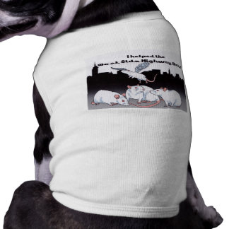 For Doggies that Support the West Side Highway Rat Tee