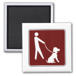 For Dog's and Their Walkers! Magnet