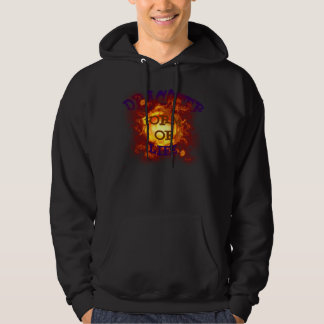 For Dragster men RACE to car Hooded sweater