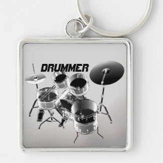 For Drummers | Personalized Gift Keychain