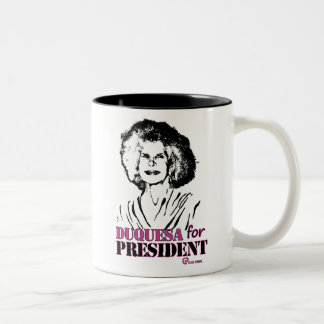For duchess president Two-Tone coffee mug