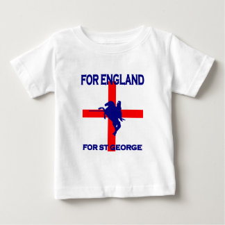 For England For St George Baby T-Shirt