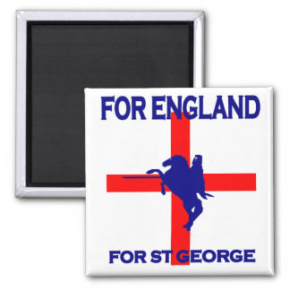 For England For St George Magnet