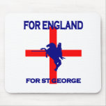 For England For St George Mouse Pads