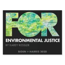 FOR Environmental Justice, Karey Kessler - Biden Sign