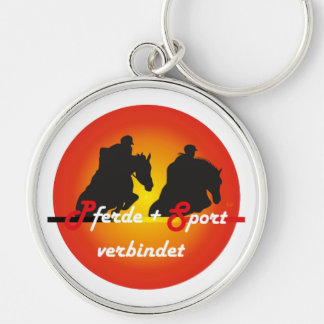 For equestrian sports lover key supporter key chains