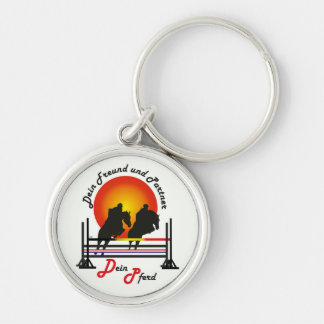 For equestrian sports lover key supporter keychains