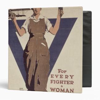 For Every Fighter a Woman Worker Binder