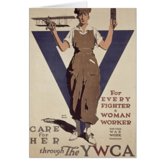 For Every Fighter a Woman Worker Card