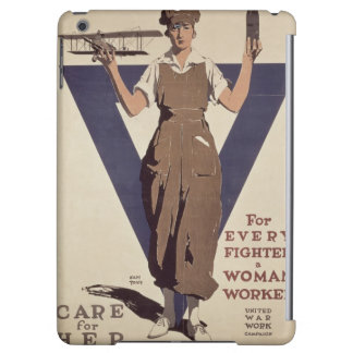 For Every Fighter a Woman Worker iPad Air Cases
