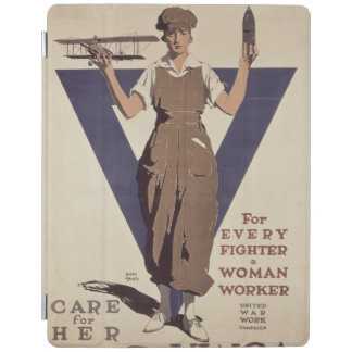For Every Fighter a Woman Worker iPad Smart Cover