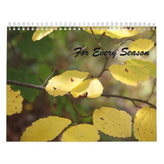 For Every Season Calendar