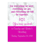 For Everything - Wedding Invitation - Berry
