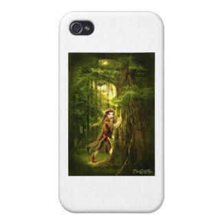 ..for faery folks live in old oaks iPhone 4 covers