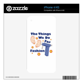 For Fashion Skin For The iPhone 4