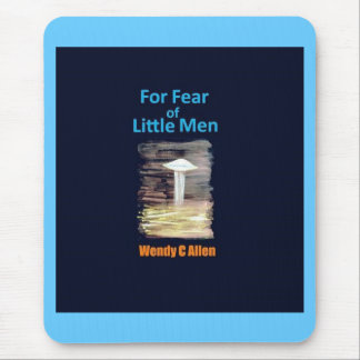 For Fear of Little Men - VISION D-8 UFO Book Cover Mouse Pad