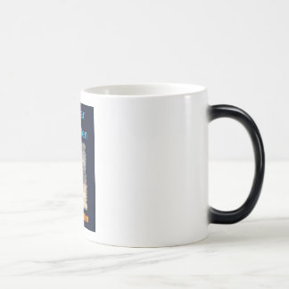 For Fear of Little Men - VISION D-8 UFO Book Cover 11 Oz Magic Heat Color-Changing Coffee Mug