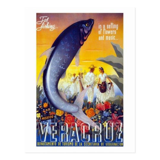 For Fishing Veracruz Mexico Postcard