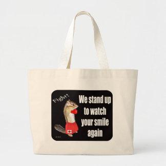 For For donationus use (fund-raising) Chipmunk pho Jumbo Tote Bag