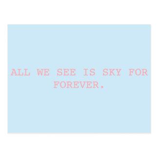 For Forever // Dear Evan Hansen Postcard
