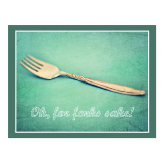For Forks Sake Post Cards