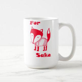 For FOX Sake! Coffee Mug