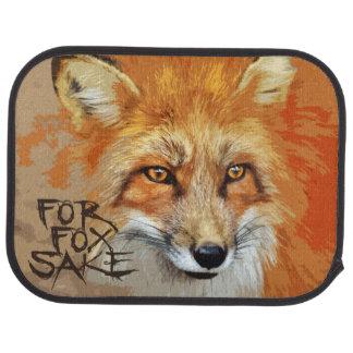 For Fox Sake Design Car Floor Mat