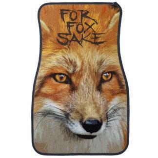 For Fox Sake Design Car Mat