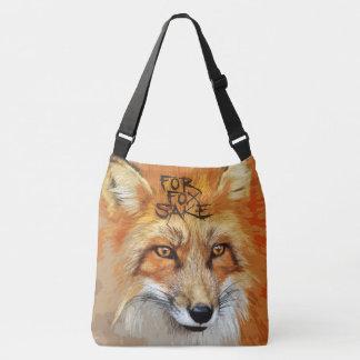 For Fox Sake Design Crossbody Bag