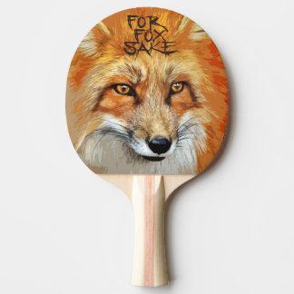 For Fox Sake Design Ping-Pong Paddle