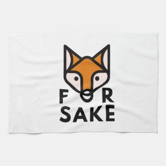 For Fox Sake Hand Towel
