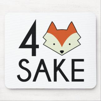 For Fox Sake Mouse Pad