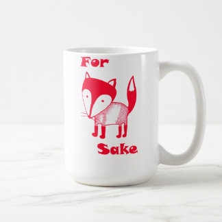 For FOX Sake! Mug